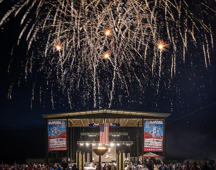 Fireworks in Alabama