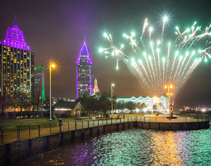 Aerial Fireworks Displays