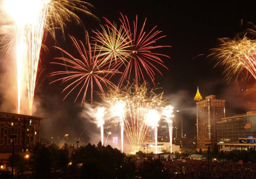Beautiful Fireworks Shows